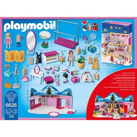 Prix Calendrier Playmobil 6626 Calendrier De L Avent Loge D Artiste