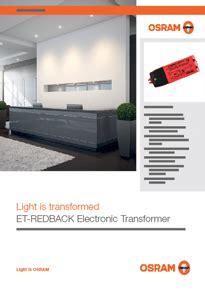 osram s et redback electronic transformer voltimum australia