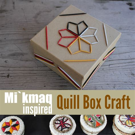 michigan crafts for explore mi kmaq culture quillwork craft for