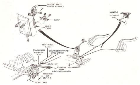 book repair manual 1965 ford thunderbird parking system parking brake diagram falcon enterprises