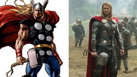 thor movie vs comic how the avengers are nothing like the comics