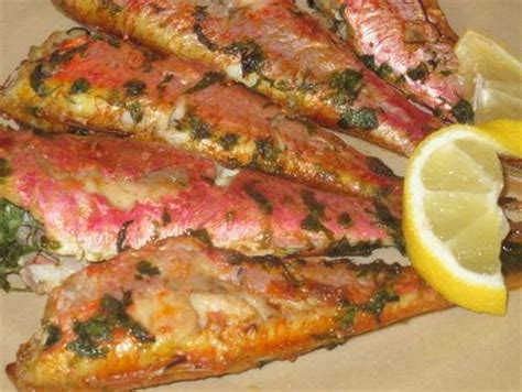 cuisiner les rougets rouget barbet 224 la chermoula au four paperblog