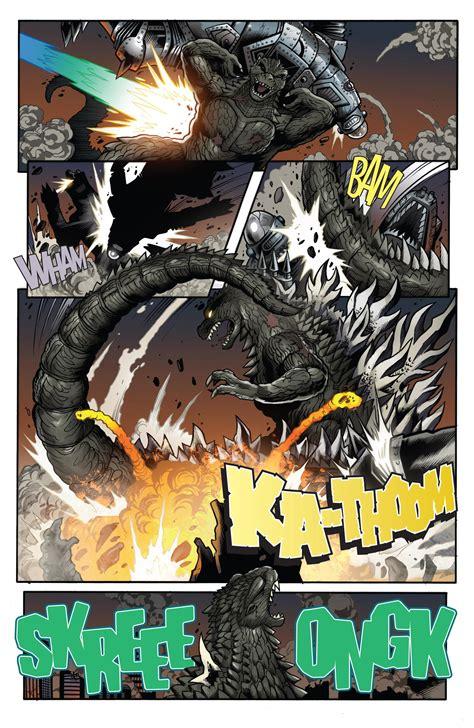 Resitec Earthing Static Versus A Thousand Shocks by Defeat Idw Godzilla Battles Comic Vine