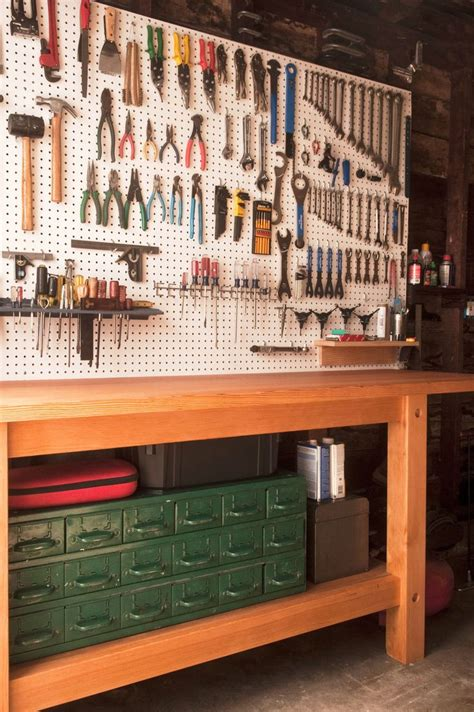tool bench organization 25 best ideas about workbenches on pinterest garage tool storage workshop ideas