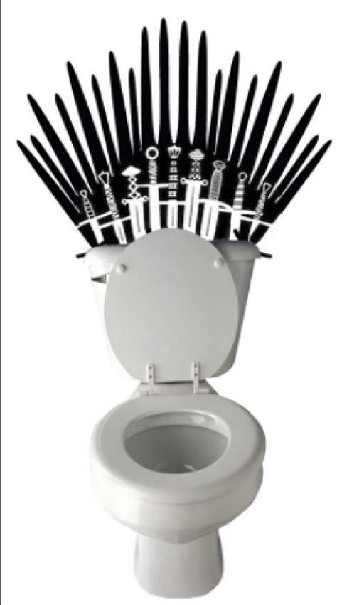 game of thrones toilet hilarious iron throne toilet decal game of thrones inspired