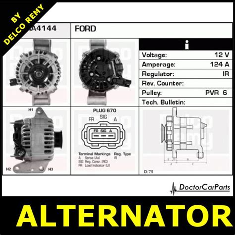 alternator ford mondeo jaguar x type dra4144 ebay