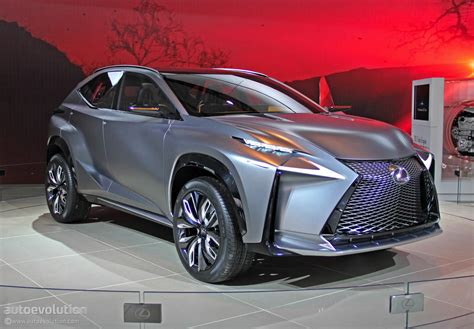 lexus lf nx lexus lf nx turbo concept lands in detroit live photos