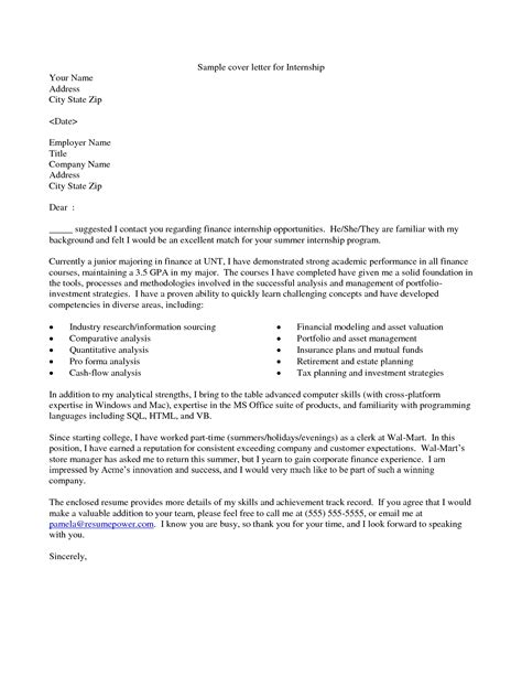 cover letter for employment opportunity cover letter exle