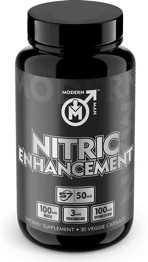 nitric oxide enhancement modern man pump enhancing