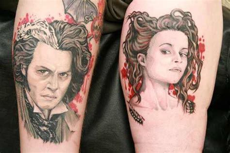 sweeney todd tattoo who wants this tattoos sweeney todd fan 18419016