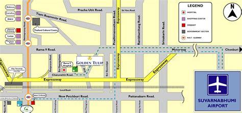 room mapping golden tulip sovereign hotel bangkok formerly radisson