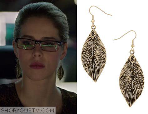 arrow season 2 episode 20 felicity s leaf earrings shop