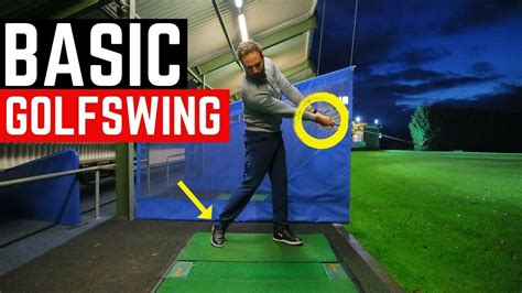 Basic Golf Swing by The Most Basic Golf Swing In Motion