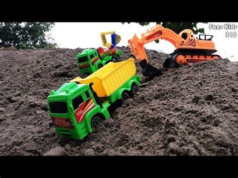 Mainan Anak Truk Keruk Mb152 vidio excavator mainan mainan toys