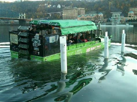 duck boat pittsburgh our duck boats depart at station square picture of just