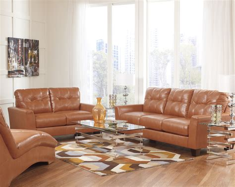 orange couches living room orange leather furniture chairs seating