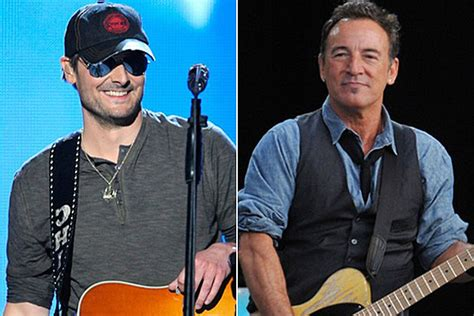 eric church springsteen cma awards 2012 eric church gets special note from bruce springsteen himself