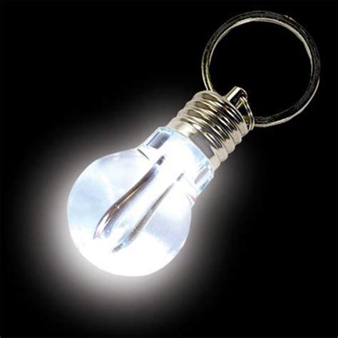 key ring lights pocket light bulb key ring from gyroscope