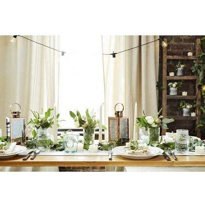 home decor ltd set of 2 metal stand glass tube vase flower pot shape