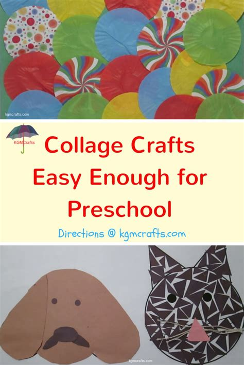 collage crafts for collage crafts for are easy for preschoolers
