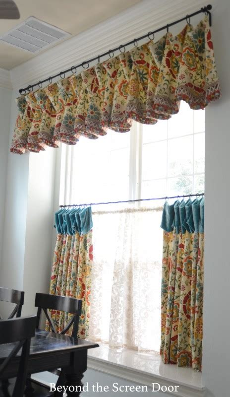cafe curtains for kitchen gallery cafe curtains sill length panels beyond the