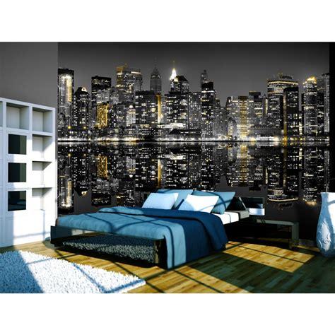 new york schlafzimmer einzigartige artgeist fototapete mit skylines new york