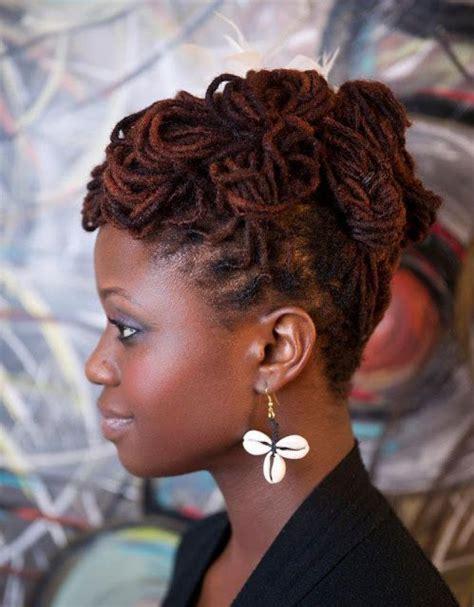 locked hairstyles on pinterest natural locs hair updos google search natural lock