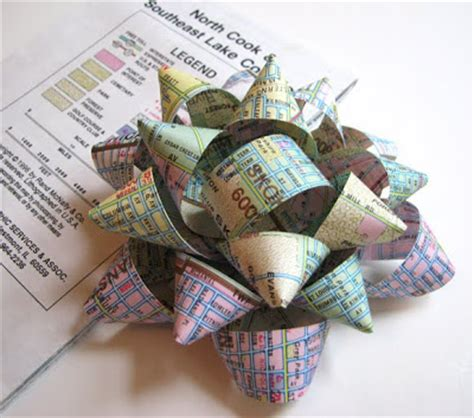 Handmade Gift Bows - thrifty gift ideas generation