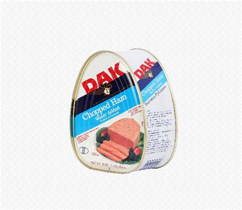 Dak Canned Ham Shelf by Canned Seafood Meats Eggs Meats Cold Cuts Home Others Ham Chopped Tin 454g Dak