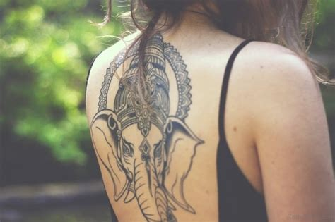 Tattoo Ganesha On Back | 50 classic ganesha tattoos on back