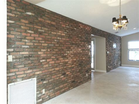 Interior Wall Brick Facing by Install Thin Brick Veneer Like A Pro Make Your Home More