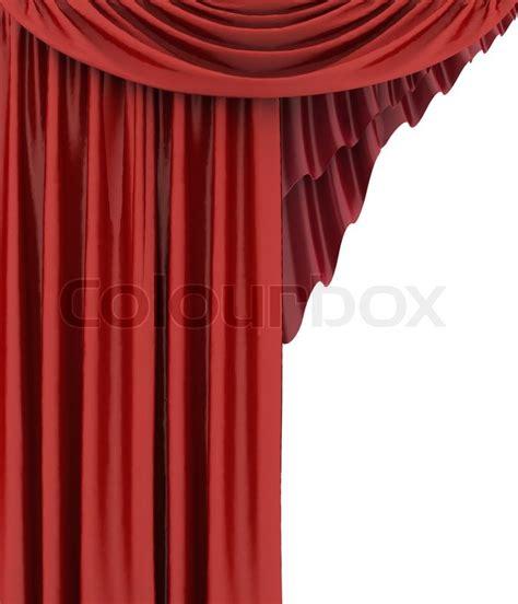 vorhang theater offene rot theater vorhang hintergrund stockfoto