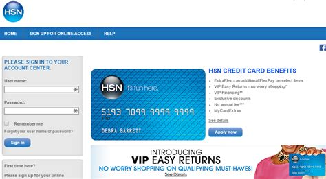 pay your hsn credit card bill mycheckweb