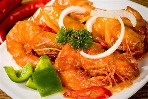resep   membuat udang goreng mentega chinese food