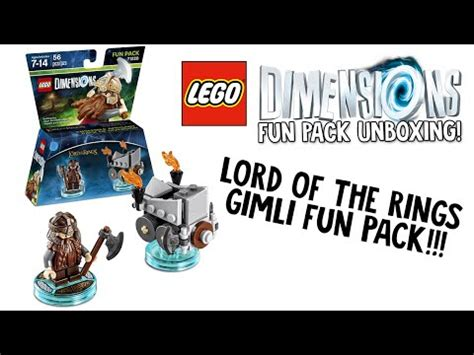 tutorial lego lord of the rings full download lego dimensions gimli fun pack 71220