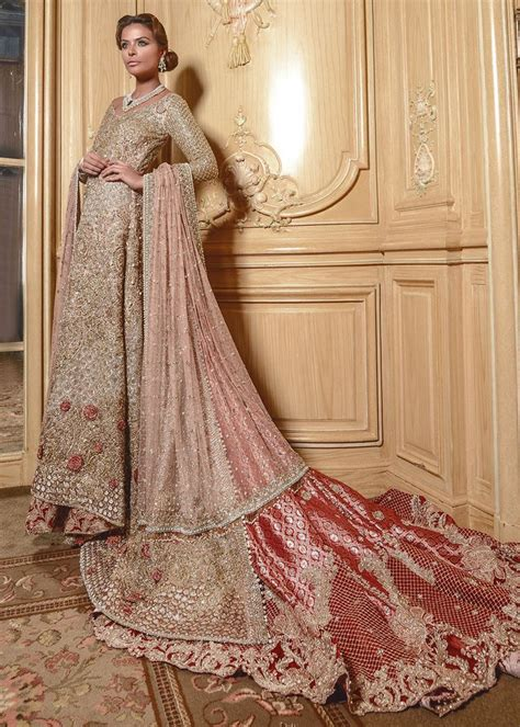 Bridal Dresses And Prices by Faraz Manan Bridal Dresses Collection 2017 With Prices