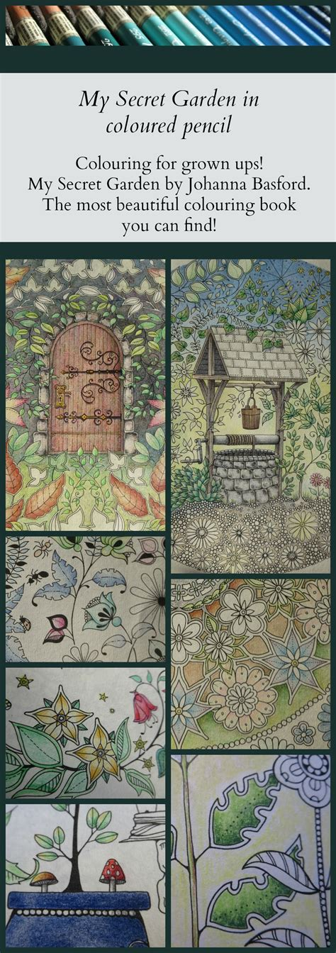secret garden coloring book colored pencil the last few weeks i enjoyed many hours of happy