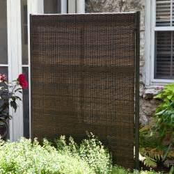 Outdoor Room Dividers Versare Outdoor Wicker Resin Room Divider Outdoor Privacy Screens At Hayneedle