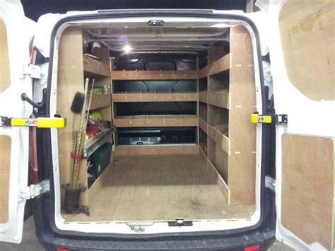 ford transit custom racking swb complete plywood