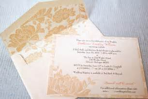 bridal shower brunch invitation template wedding invitation ideas
