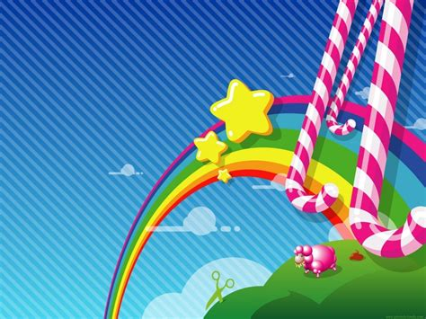 dibujos infantiles wallpaper wallpapers hd 40 fondos de pantalla de arcoiris