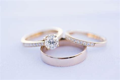 engagement ring  wedding ring  wedding band