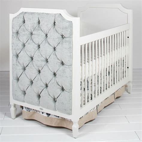 Beverly Crib With Tufted Panels By Newport Cottages Tufted Baby Crib