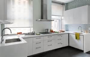White Shiny Kitchen Cabinets Glossy White Kitchen Cabinets Contemporary Kitchen Domaine Home