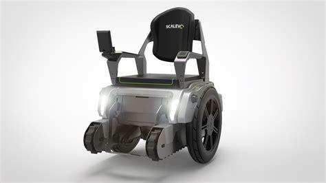 scalevo  electric wheelchair capable  climbing