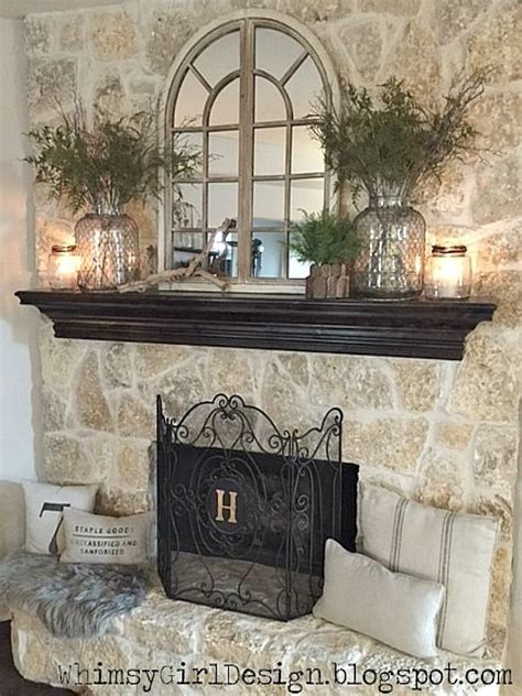 Decorative For Fireplace by Best 20 Decorating A Mantle Ideas On Mantels