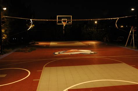 innovative lighting for backyard sport game courts