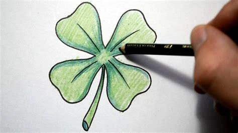 sketchbook clover how to draw a four leaf clover