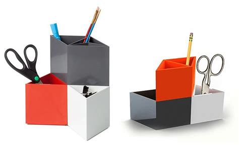 Rhombins Modular Desk Organizer Design Is This Modular Desk Organizer