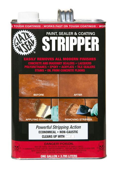 Paint Sealer & Coating Stripper   Glaze 'N Seal Products
